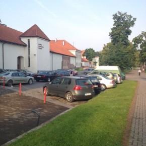 Nemokamas parkavimas senamiestyje