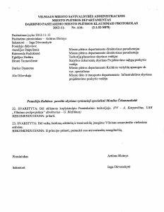 2012-11-21 leidimas dėl žaidimo aikštelės Sirvydo skvere -2