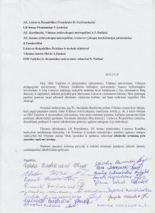 2012-12-10 studentų tėvų laiškas su parašais, p1