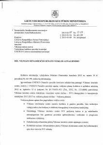 2013-02-05 Kultūros Ministerijos laiškas, p1