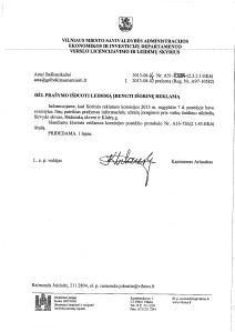 2013-08-14 Savivaldybės leidimas