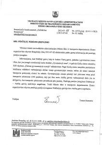 2013-07-11 Savivaldybės atsakymas