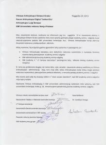 2013-08-23 laiškas dėl ISM studentų centro / valgyklos