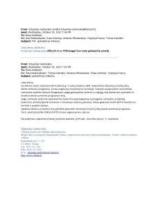 2013-10-02 Garbovskio email