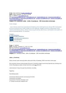 2013 Gruodžio 13 laiškas iš ISM Universiteto