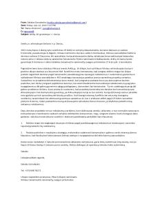 2013 Liepos 12 SG laiškas Arkivyskupijai