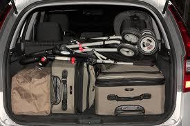 luggage in car