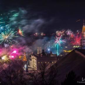 Sveikiname su Naujaisias 2014Metais!