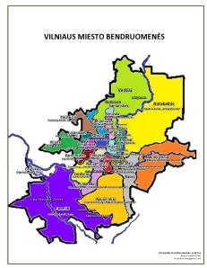 VBA žemėlapis