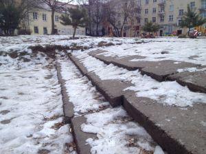 2014-02-03 Vokiečių 5 gtv kieme