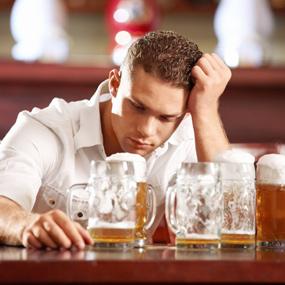 alkoholio pasekmes