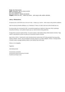 2014-04-16 Bendruomenės laiškas