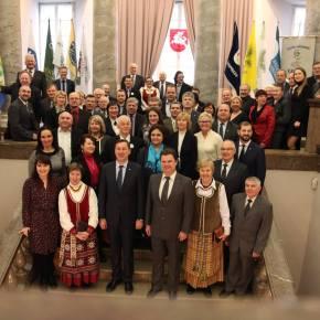 Vilniaus Bendruomenių Asociacijos  – VMSA sutarties pasirašymoceremonija