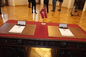 VBA-VMSA Sutarties Pasirašymas